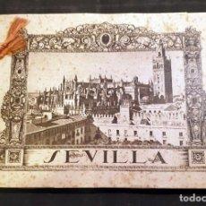 Libros antiguos: SEVILLA - EXPOSICIÓN IBEROAMERICANA, ÁLBUM DE 56 FOTOGRAFÍAS, 1929. - BARCELONA, HUECOGRABADO MUMBRÚ. Lote 118614511