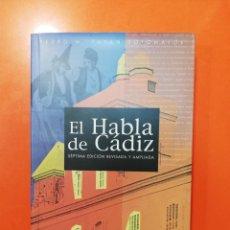 Libros antiguos: EL HABLA DE CÁDIZ. Lote 188821571