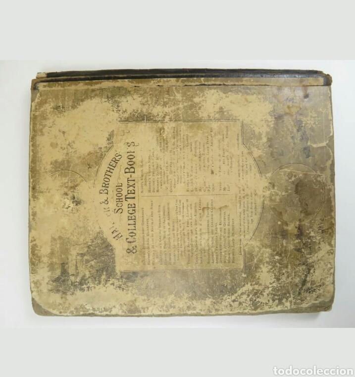 Libros antiguos: Libro muy antiguo de geografía con mapas año 1885 en inglés rareza RARO - Foto 4 - 189185765