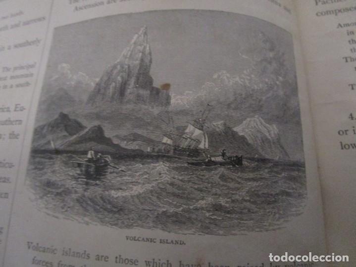 Libros antiguos: Libro muy antiguo de geografía con mapas año 1885 en inglés rareza RARO - Foto 12 - 189185765