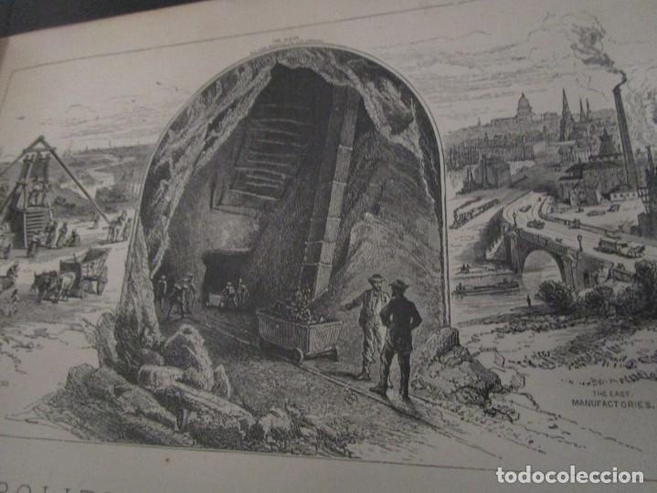 Libros antiguos: Libro muy antiguo de geografía con mapas año 1885 en inglés rareza RARO - Foto 18 - 189185765