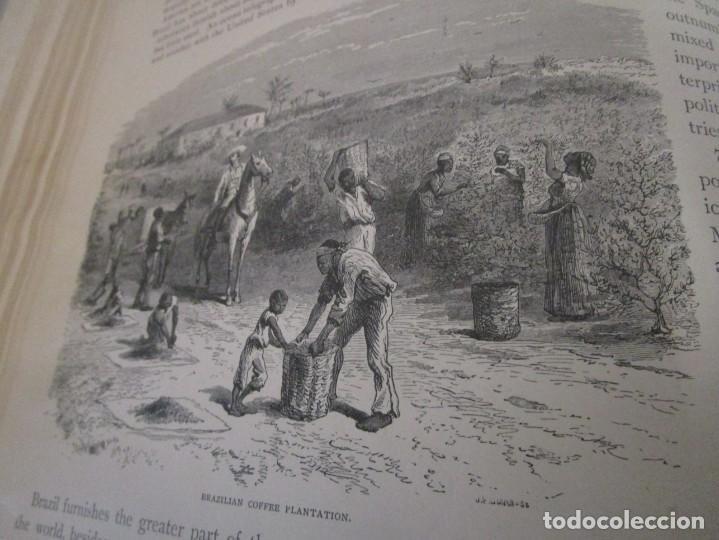 Libros antiguos: Libro muy antiguo de geografía con mapas año 1885 en inglés rareza RARO - Foto 33 - 189185765