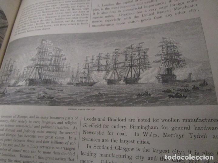 Libros antiguos: Libro muy antiguo de geografía con mapas año 1885 en inglés rareza RARO - Foto 36 - 189185765