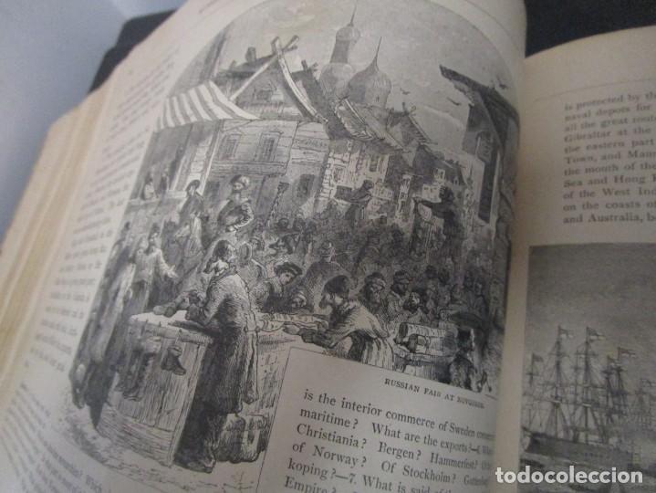 Libros antiguos: Libro muy antiguo de geografía con mapas año 1885 en inglés rareza RARO - Foto 37 - 189185765