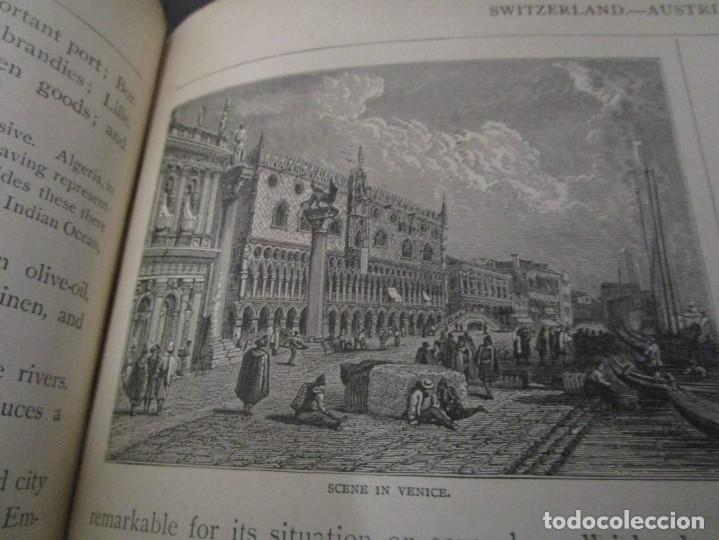 Libros antiguos: Libro muy antiguo de geografía con mapas año 1885 en inglés rareza RARO - Foto 38 - 189185765