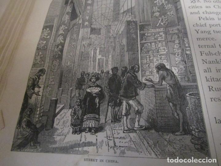 Libros antiguos: Libro muy antiguo de geografía con mapas año 1885 en inglés rareza RARO - Foto 40 - 189185765