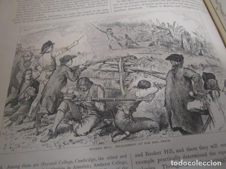 Libros antiguos: Libro muy antiguo de geografía con mapas año 1885 en inglés rareza RARO - Foto 43 - 189185765