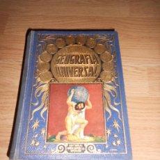 Libros antiguos: GEOGRAFIA UNIVERSAL - AGUSTIN BLANQUEZ FRAILE - RAMON SOPENA. Lote 189294336