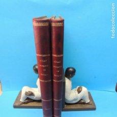 Libros antiguos: ATLAS GEOGRÁFICO IBERO-AMERICANO. ESPAÑA.-ESCUDÉ BARTOLÍ, MANUEL Y CHIAS Y CARBÓ, BENITO.. Lote 189752417