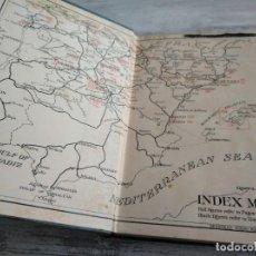 Libros antiguos: GUÍA TURÍSTICA DE LA MITAD NORTE DE ESPAÑA (1930) - NORTHERN SPAIN, THE BLUE GUIDES - PLANOS Y MAPAS. Lote 189892827
