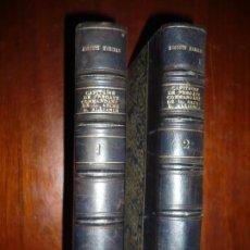 Libros antiguos: AUGUSTE MARCEAU CAPITAINE DE FREGATE UN PERE MARISTE 1879 PARIS TOMO 1-2 . Lote 190457496