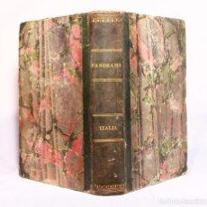 Libros antiguos: HISTORIA DE LA ITALIA POR M. ARTAUD. 1840. 96 LÁMINAS. BARCELONA IMPRENTA DEL GUARDIA NACIONAL.. Lote 190707958