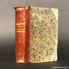 Libros antiguos: 1846 VIAJE AL ORIENTE - DE LAMARTINE - TIERRA SANTA - JERUSALEN - PALESTINA. Lote 190800956