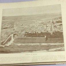 Libros antiguos: EL MARAVILLOSO PANORAMA DE FRANCIA, ARGELIA, BÉLGICA SUIZA N ° 9. SIN FECHA. MUY ILUSTRADO. Lote 191040711