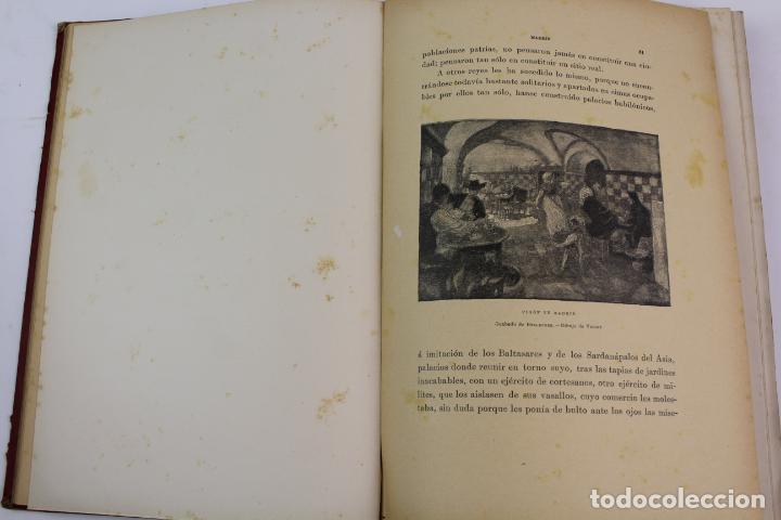 Libros antiguos: L-1618. LAS GRANDES CIUDADES ROMA MADRID LISBOA ATENAS TOKIO. ED. ILUSTRADA. 1909. - Foto 3 - 191068113
