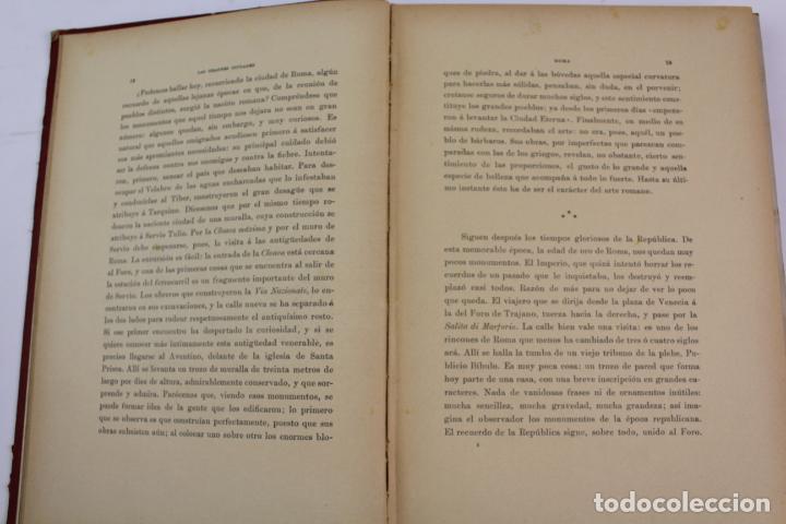 Libros antiguos: L-1618. LAS GRANDES CIUDADES ROMA MADRID LISBOA ATENAS TOKIO. ED. ILUSTRADA. 1909. - Foto 2 - 191068113