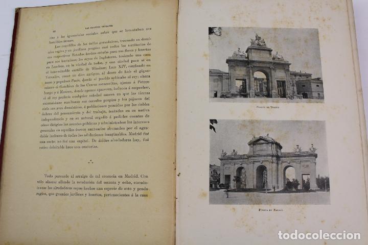 Libros antiguos: L-1618. LAS GRANDES CIUDADES ROMA MADRID LISBOA ATENAS TOKIO. ED. ILUSTRADA. 1909. - Foto 4 - 191068113