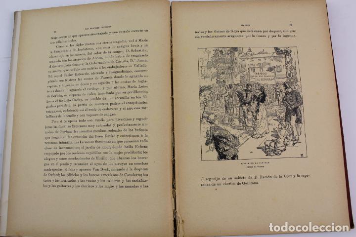 Libros antiguos: L-1618. LAS GRANDES CIUDADES ROMA MADRID LISBOA ATENAS TOKIO. ED. ILUSTRADA. 1909. - Foto 6 - 191068113