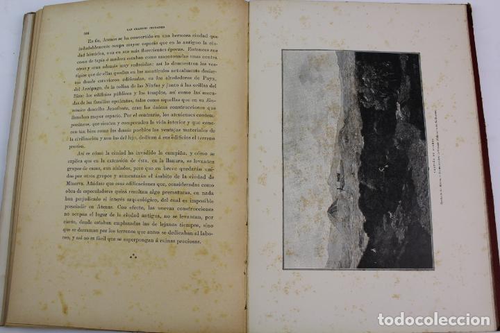 Libros antiguos: L-1618. LAS GRANDES CIUDADES ROMA MADRID LISBOA ATENAS TOKIO. ED. ILUSTRADA. 1909. - Foto 7 - 191068113