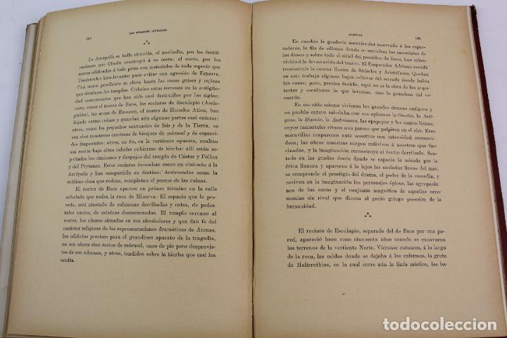 Libros antiguos: L-1618. LAS GRANDES CIUDADES ROMA MADRID LISBOA ATENAS TOKIO. ED. ILUSTRADA. 1909. - Foto 8 - 191068113