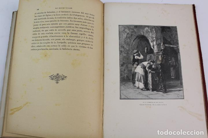 Libros antiguos: L-1618. LAS GRANDES CIUDADES ROMA MADRID LISBOA ATENAS TOKIO. ED. ILUSTRADA. 1909. - Foto 9 - 191068113