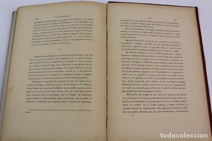 Libros antiguos: L-1618. LAS GRANDES CIUDADES ROMA MADRID LISBOA ATENAS TOKIO. ED. ILUSTRADA. 1909. - Foto 11 - 191068113