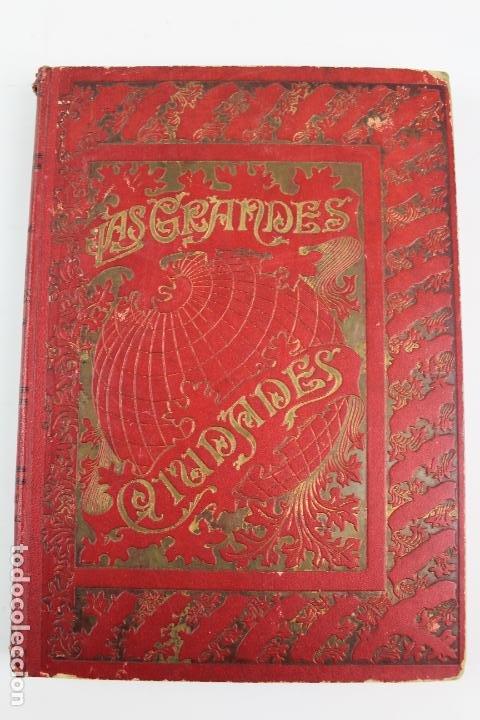 Libros antiguos: L-1618. LAS GRANDES CIUDADES ROMA MADRID LISBOA ATENAS TOKIO. ED. ILUSTRADA. 1909. - Foto 12 - 191068113