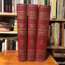 Libros antiguos: NUEVA GEOGRAFIA UNIVERSAL . ERNESTO GRANGER Y OTROS. ESPASA- CALPE MADRID 1929. 3 VOLUMENES.. Lote 191091696