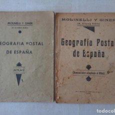 Libros antiguos: GEOGRAFIA POSTAL DE ESPAÑA. NOMENCLATOR Y ATLAS .797. Lote 191109508