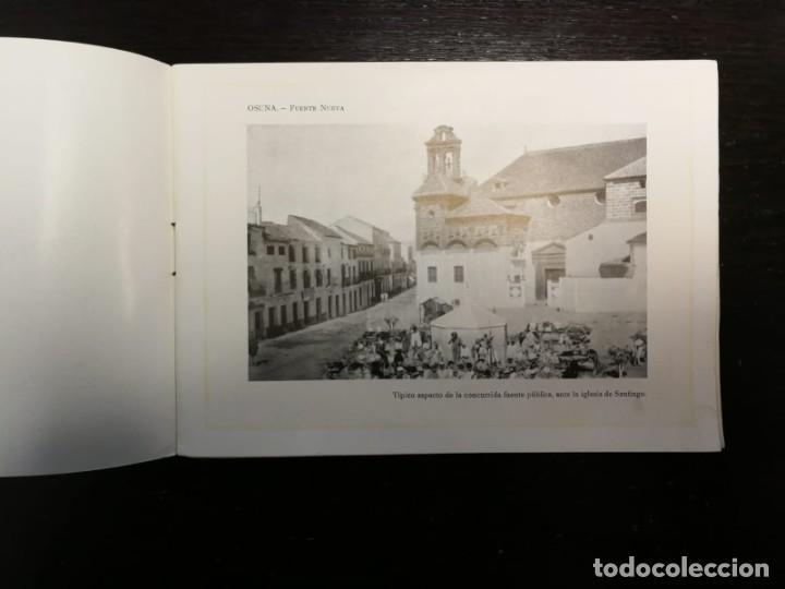 Libros antiguos: Portfolio Fotográfico de Andalucía nº 41. Osuna. 40 páginas con 16 fotografías y Pueblos limítrofes - Foto 3 - 27007625