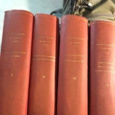 Libros antiguos: CRÓNICA GENERAL DE ESPAÑA CUATRO VOLÚMENES VER FOTOGRAFÍAS. Lote 191796181