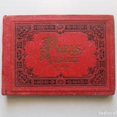 Libros antiguos: LIBRERIA GHOTICA. GUIA ORIGINAL DE PARIS Y VERSALLES.1880. CON 50 VISTAS LITOGRÁFICAS.. Lote 192740022