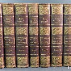 Libros antiguos: NUEVA GEOGRAFÍA UNIVERSAL LOS PAÍSES Y LAS RAZAS MONTANER Y SIMÓN 1911 - 1917 10 TOMOS COMPLETO. Lote 192888650