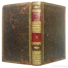Libros antiguos: 1807 - VIAJE POR EGIPTO Y SIRIA POR EL CONDE DE VOLNEY - LITERATURA DE VIAJES, ORIENTALISMO - RARO. Lote 193005870