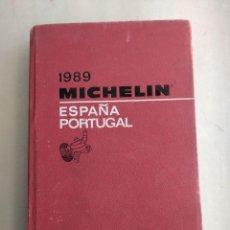 Libros antiguos: GUÍA MICHELÍN ESPAÑA Y PORTUGAL 1989. Lote 193051400