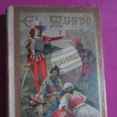 Libros antiguos: EL MUNDO Y SUS DIVISIONES 98 LÁMINAS CON 250 MAPAS CALLEJA 1911 L4C1. Lote 193368720