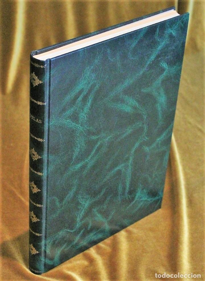 ATLAS EL PAÍS AGUILAR, 1991, 25 X 34 X 3 CM, ENCUADERNACIÓN SÍMIL PIEL (Libros Antiguos, Raros y Curiosos - Geografía y Viajes)