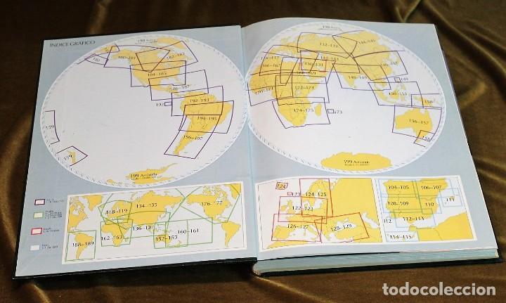 Libros antiguos: Atlas el País Aguilar, 1991, 25 x 34 x 3 cm, encuadernación símil piel - Foto 2 - 193369235
