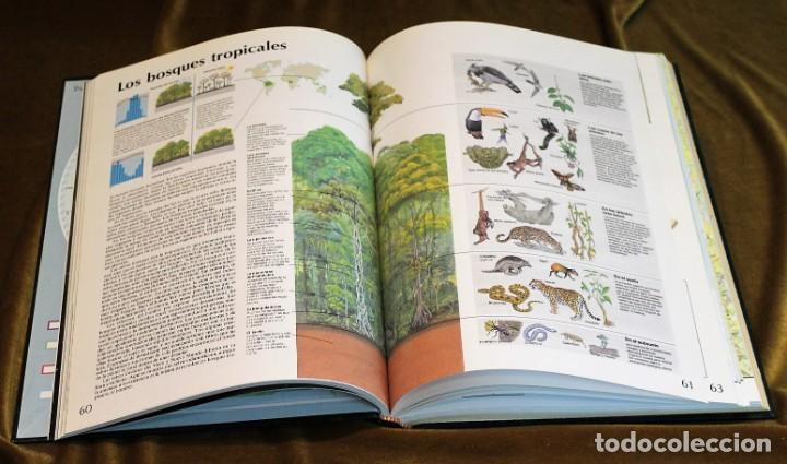 Libros antiguos: Atlas el País Aguilar, 1991, 25 x 34 x 3 cm, encuadernación símil piel - Foto 3 - 193369235