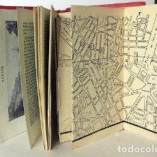 Libros antiguos: GUÍA TURÍSTICA ILUSTRADA : MADRID, AVILA, TOLEDO, SEGOVIA, GUADALAJARA. (AÑOS 40-50) PLANOS PLEGADOS. Lote 193586525