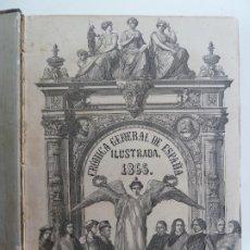 Libros antiguos: CRÓNICA GENERAL DE ESPAÑA. BURGOS, LOGROÑO, SORIA Y SEGOVIA. AÑO 1866.. Lote 193996630