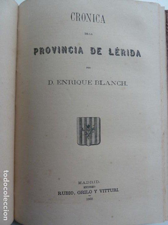 Libros antiguos: CRÓNICA GENERAL DE ESPAÑA. TOLEDO, LÉRIDA,ORENSE Y PONTEVEDRA. AÑO 1866 - Foto 5 - 194000571