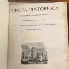 Libros antiguos: EUROPEA PINTORESCA. Lote 194189018