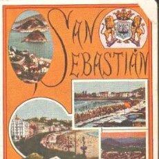 Libros antiguos: SAN SEBASTIAN. GUIA OFICIAL 1928-29. A-LPAVA-080. Lote 194377877