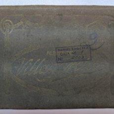 Libros antiguos: ALBUM DE VILLAGARCIA DE AROSA PONTEVEDRA GALICIA AÑOS 10-20 - 10 VISTAS CASTAÑEIRA Y BLAZQUEZ MADRID. Lote 194392298