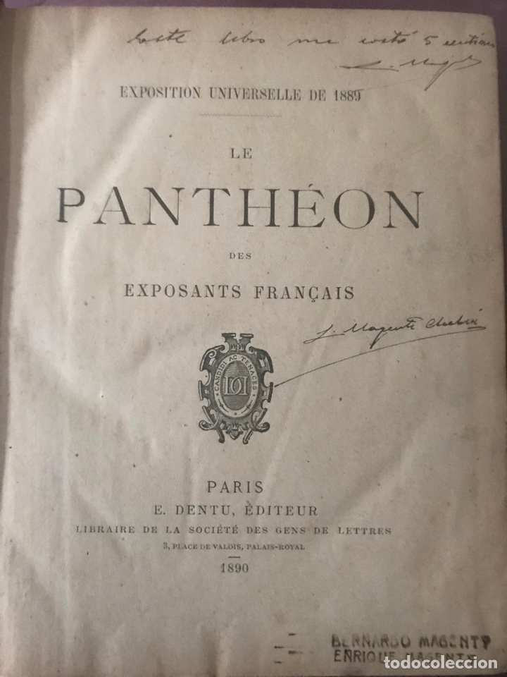Libros antiguos: Exposición universal de Paris. 1889. - Foto 2 - 194395478