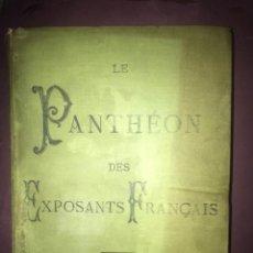 Libros antiguos: EXPOSICIÓN UNIVERSAL DE PARIS. 1889.. Lote 194395478