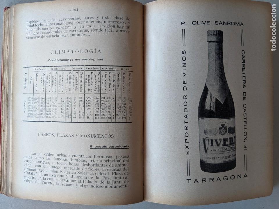 Libros antiguos: 1925 ANUARIO-GUIA PLAYAS Y BALNEARIOS DE ESPAÑA - EDITORIAL HERCULES - MADRID CEUTA - Foto 5 - 194495258