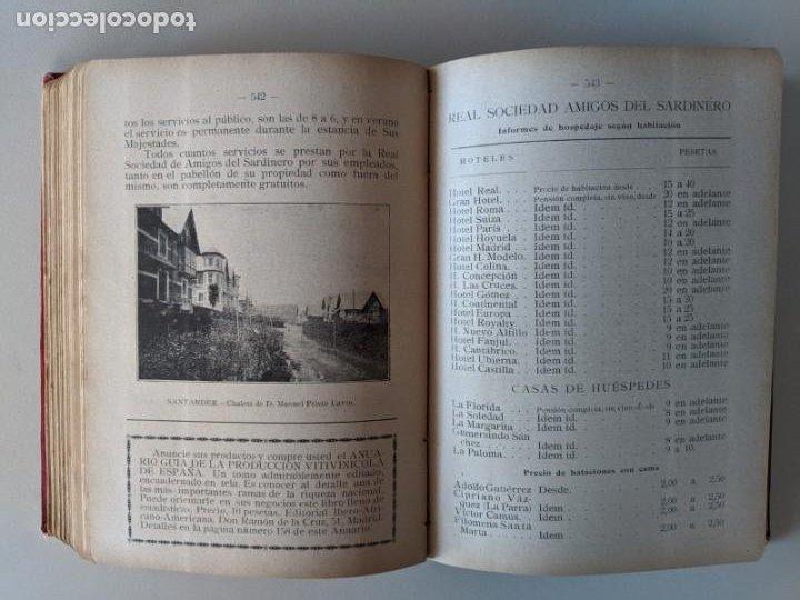 Libros antiguos: 1925 ANUARIO-GUIA PLAYAS Y BALNEARIOS DE ESPAÑA - EDITORIAL HERCULES - MADRID CEUTA - Foto 9 - 194495258