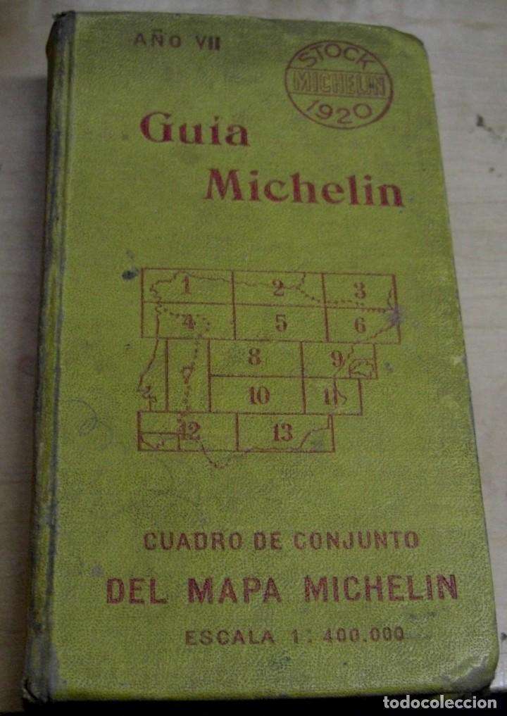 GUÍA MICHELIN AÑO VII 1920 (Libros Antiguos, Raros y Curiosos - Geografía y Viajes)